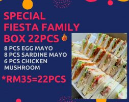 special fiesta family box 3mix flavor