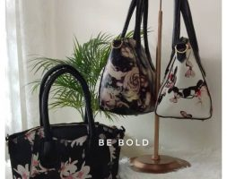 Flora Butterfly Small Tote Bag